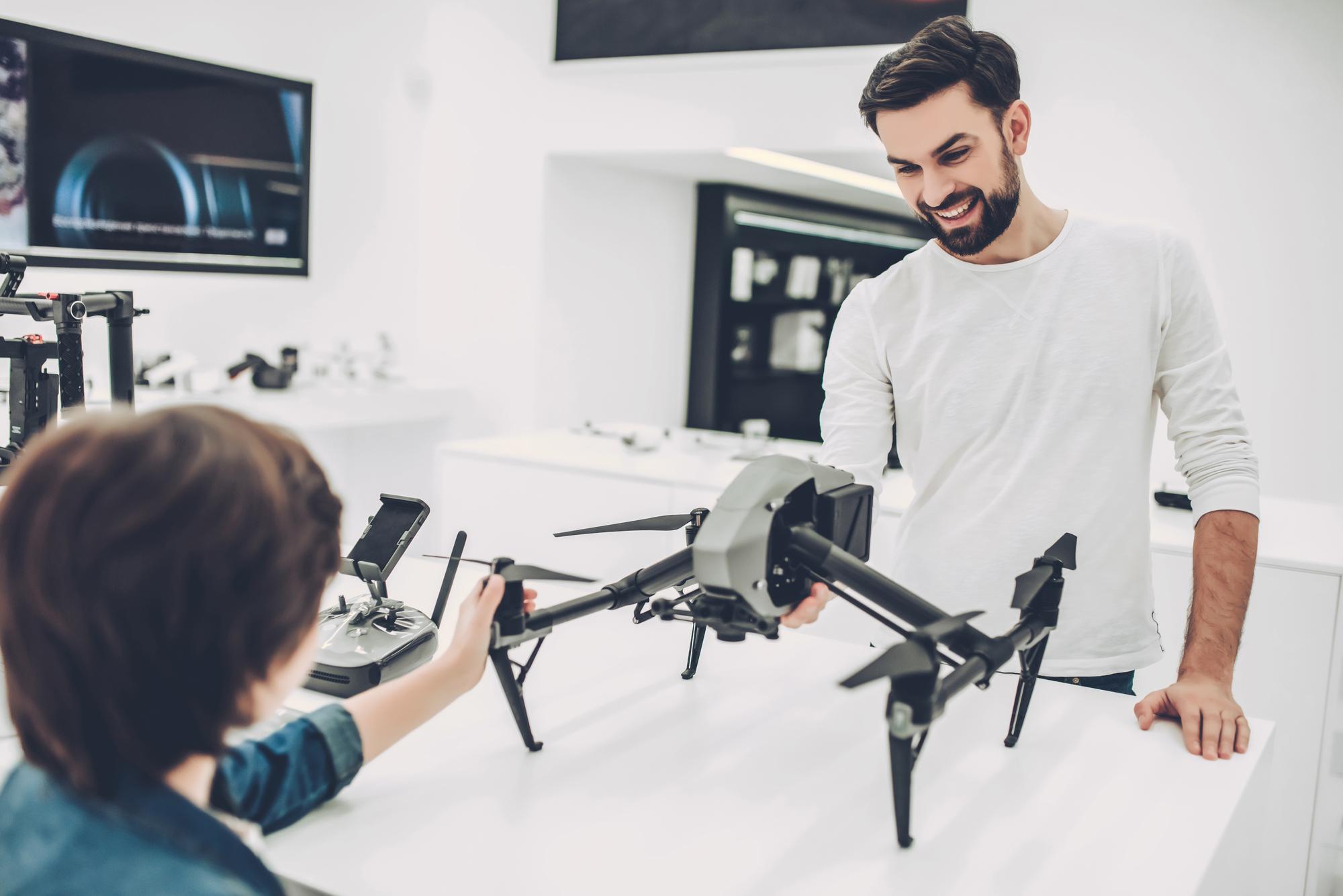 Køb af drone